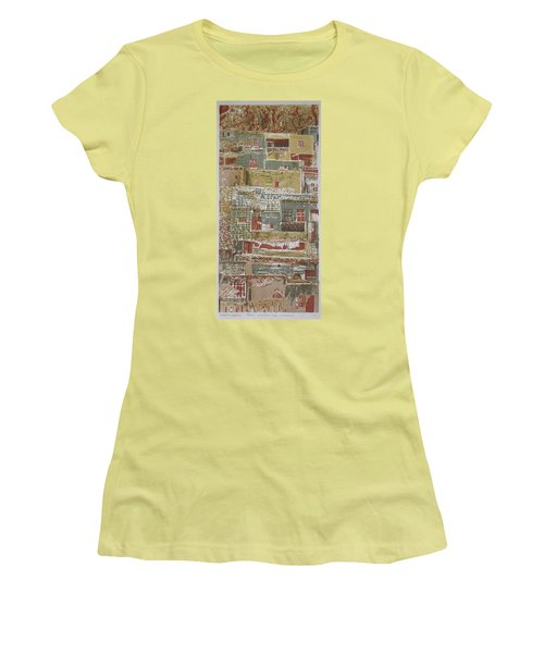 The Mountain Village Women's T-Shirt (Athletic Fit)