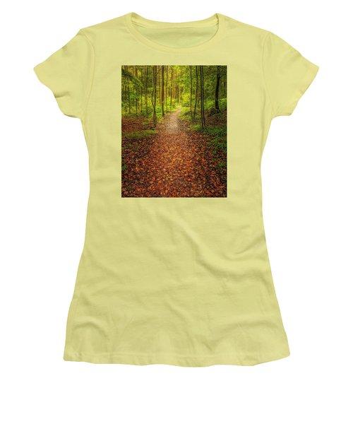 The Path Women's T-Shirt (Junior Cut)