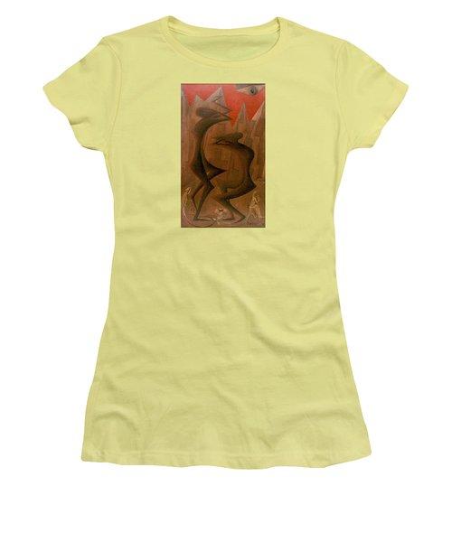 The Penance Dance Women's T-Shirt (Athletic Fit)