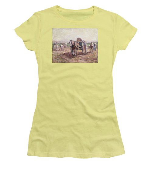 The Potato Pickers Women's T-Shirt (Athletic Fit)