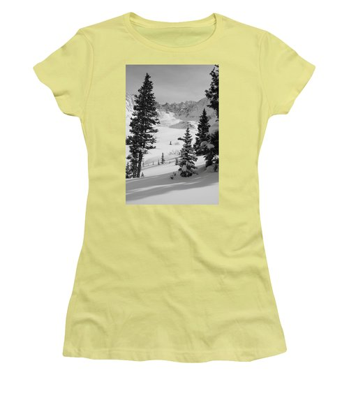 The Quiet Season Women's T-Shirt (Junior Cut) by Eric Glaser