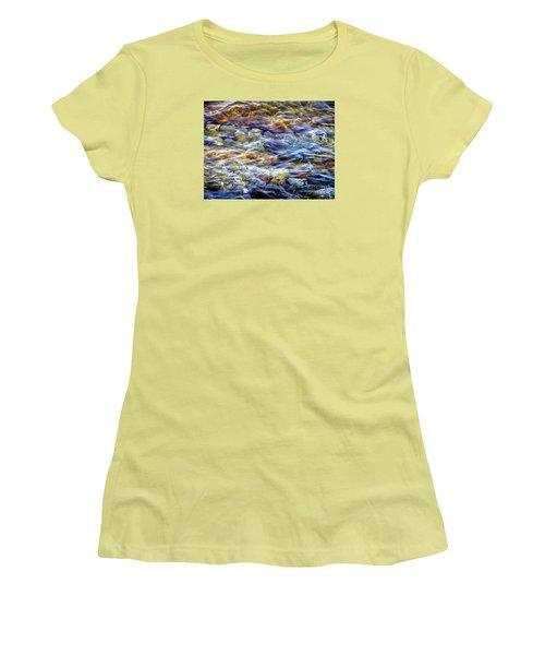 The River Women's T-Shirt (Junior Cut) by Susan  Dimitrakopoulos