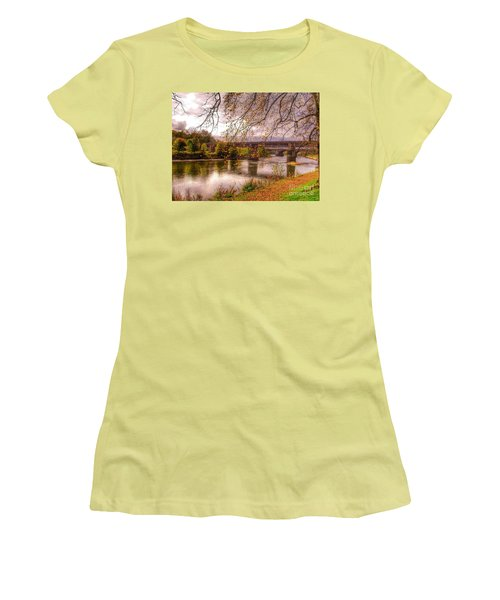 The Riverside At Avenham Park Women's T-Shirt (Athletic Fit)