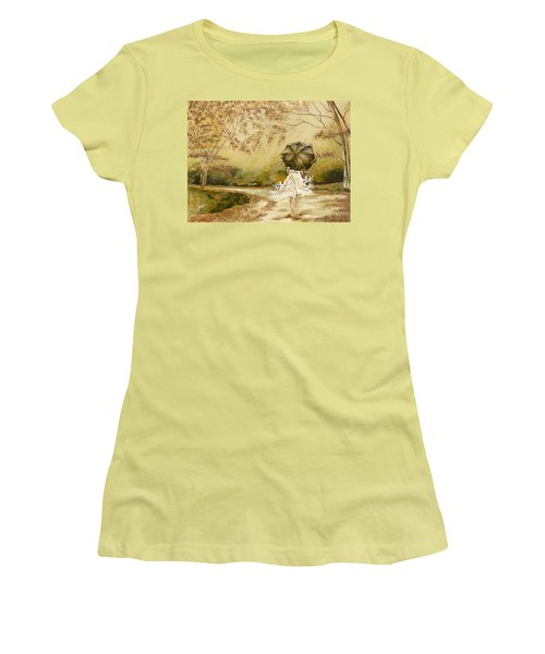 The Road Women's T-Shirt (Athletic Fit)