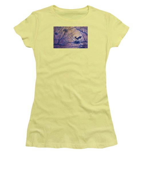 The Rookery Revisited Women's T-Shirt (Junior Cut) by Lee Beuther