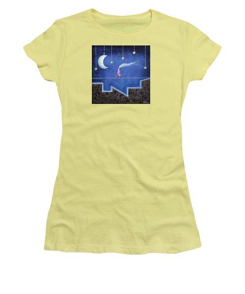 The Sleepwalker I Women's T-Shirt (Athletic Fit)