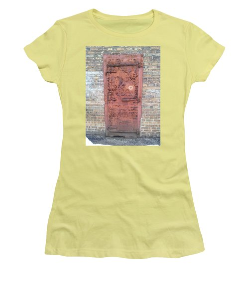 The Three Heart Door. Women's T-Shirt (Athletic Fit)