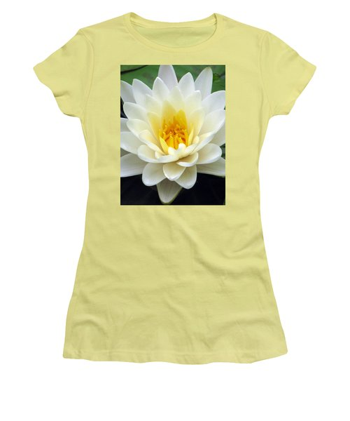 Women's T-Shirt (Junior Cut) featuring the photograph The Water Lilies Collection - 03 by Pamela Critchlow