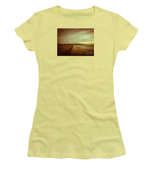 The Winter Pacific Women's T-Shirt (Junior Cut) by Fei A