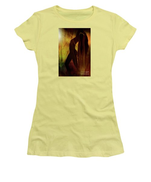The Witches Dance... Women's T-Shirt (Junior Cut) by Nina Stavlund