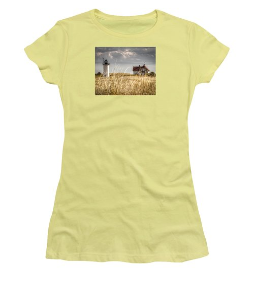 Race Point Light Through The Grass Women's T-Shirt (Athletic Fit)
