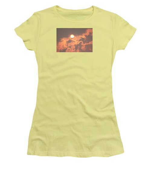 Women's T-Shirt (Junior Cut) featuring the photograph Through The Smoke by Melanie Lankford Photography