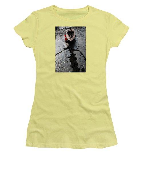 Tide's Out 1 Women's T-Shirt (Junior Cut) by Wendy Wilton