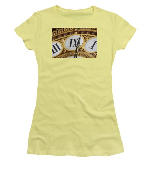 Time Goes By... Women's T-Shirt (Athletic Fit)