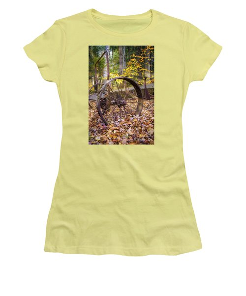 Women's T-Shirt (Junior Cut) featuring the photograph Time Gone By by Alana Ranney