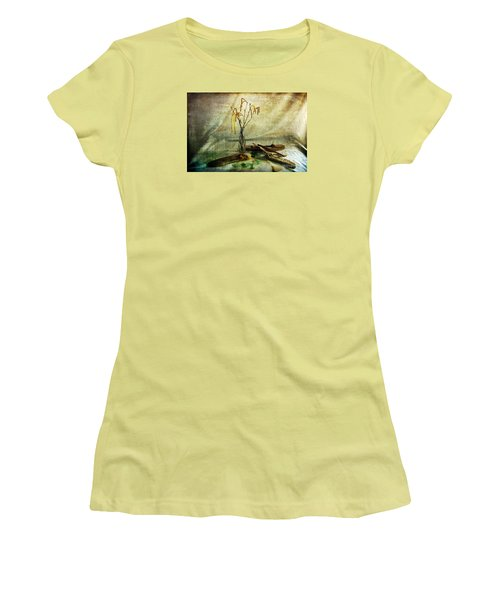 Today's Find Women's T-Shirt (Junior Cut) by Randi Grace Nilsberg