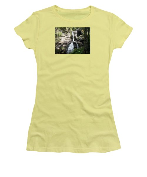Top Of Kent Falls Women's T-Shirt (Athletic Fit)
