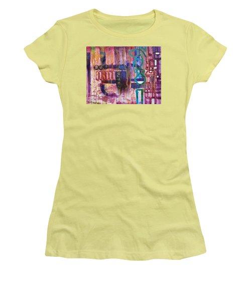 Tortured Links Women's T-Shirt (Junior Cut) by Jason Williamson