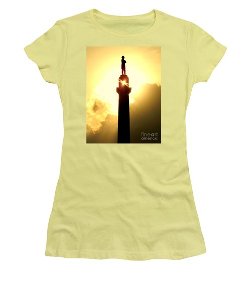 General Robert E. Lee And The Summer Solstice In New Orleans Women's T-Shirt (Athletic Fit)