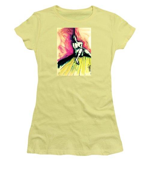 Transparent Women's T-Shirt (Athletic Fit)