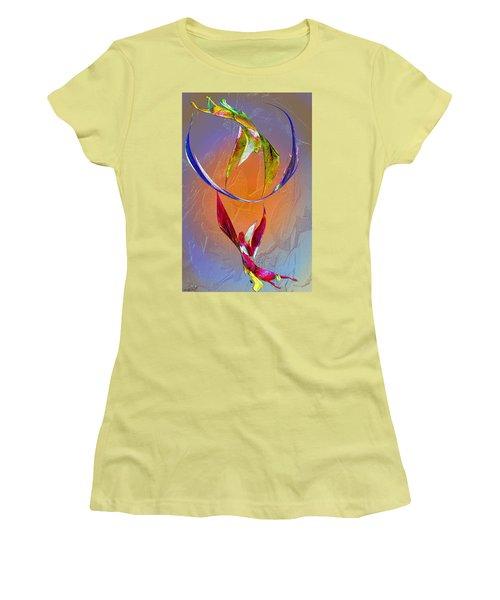 Trapeze Angels Women's T-Shirt (Junior Cut) by Michele Avanti