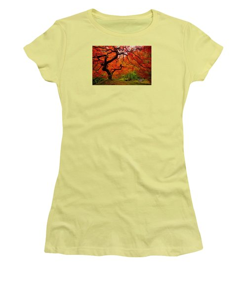 Tree Fire Women's T-Shirt (Athletic Fit)