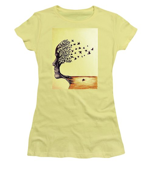 Tree Of Dreams Women's T-Shirt (Athletic Fit)