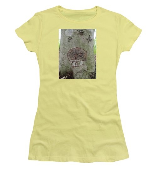Tree Spirit Women's T-Shirt (Junior Cut) by Robert Nickologianis