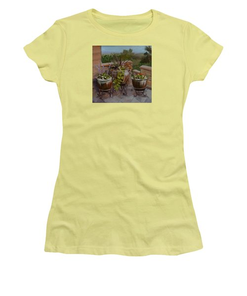 Trio Women's T-Shirt (Junior Cut) by Pattie Wall