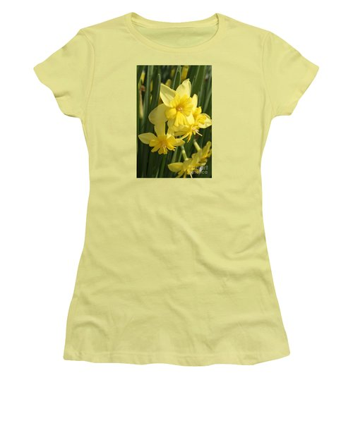 Tripartite Daffodil Women's T-Shirt (Athletic Fit)