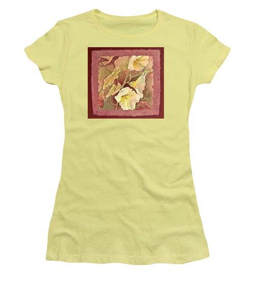 Triple White Women's T-Shirt (Athletic Fit)