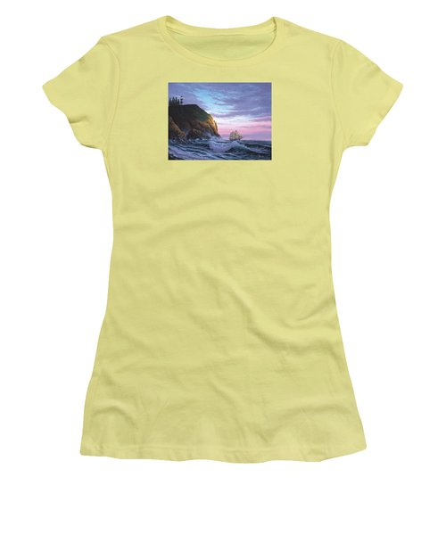 Trusting The Light Women's T-Shirt (Athletic Fit)