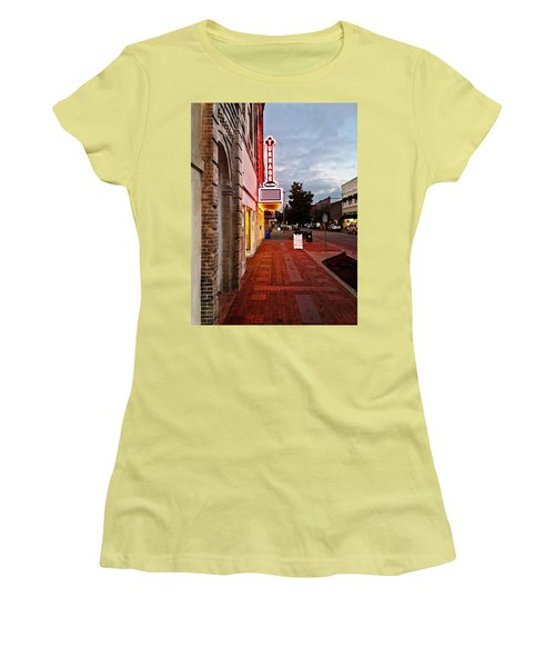 Turnage Theater Grand Opening Women's T-Shirt (Athletic Fit)