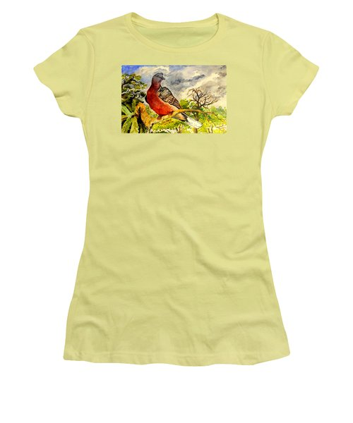 Turtle - Dove Women's T-Shirt (Athletic Fit)