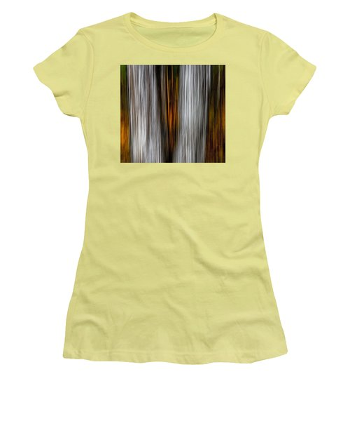 Twin Trunks Women's T-Shirt (Junior Cut) by Darryl Dalton