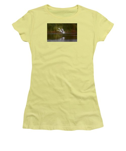 Women's T-Shirt (Junior Cut) featuring the photograph Twinkle Toes by Leticia Latocki