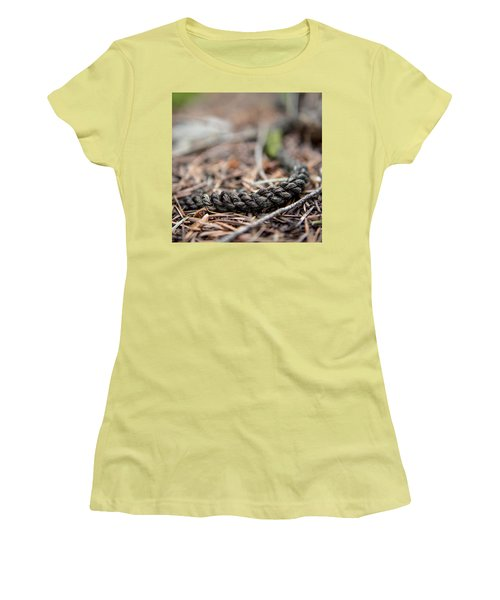 Women's T-Shirt (Junior Cut) featuring the photograph Unbound by Aaron Aldrich