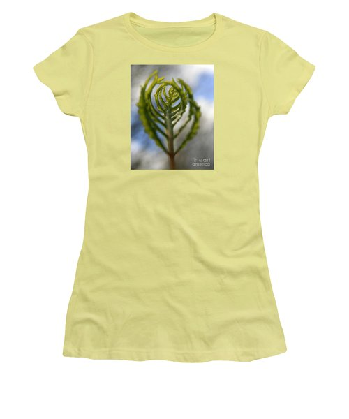 Unwrapped Women's T-Shirt (Junior Cut) by Neal Eslinger