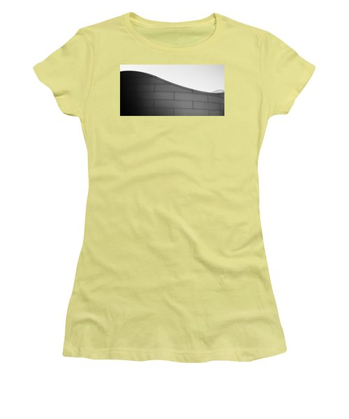 Urban Wave - Abstract Women's T-Shirt (Athletic Fit)