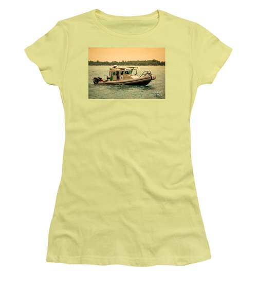 U.s. Customs Border Patrol Women's T-Shirt (Athletic Fit)