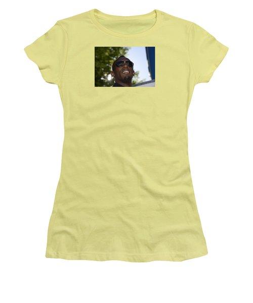 Usain Bolt - The Legend 1 Women's T-Shirt (Junior Cut) by Teo SITCHET-KANDA