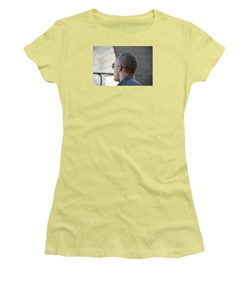 Usain Bolt - The Legend 2 Women's T-Shirt (Junior Cut) by Teo SITCHET-KANDA