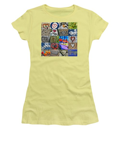 Valentine's Day - Hearts For Sale Women's T-Shirt (Athletic Fit)