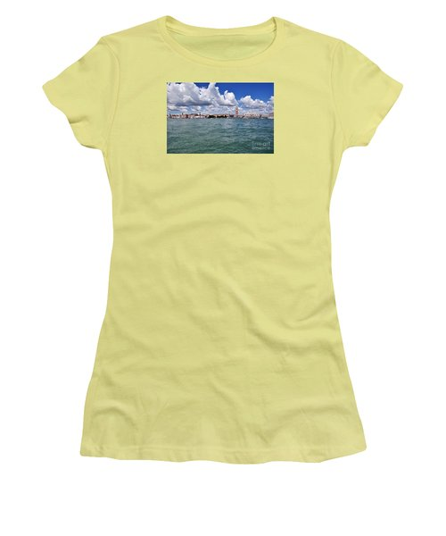 Women's T-Shirt (Junior Cut) featuring the photograph Venice by Simona Ghidini