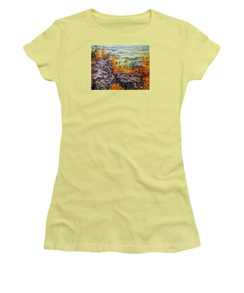 View From The Point Petit Jean Women's T-Shirt (Athletic Fit)