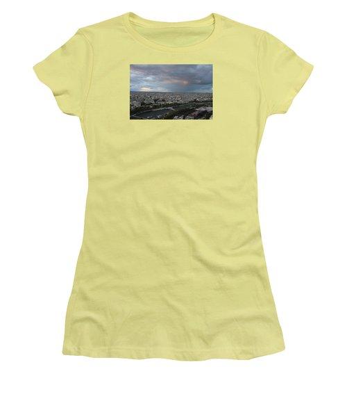 View Of Paris Women's T-Shirt (Junior Cut) by Ivete Basso Photography