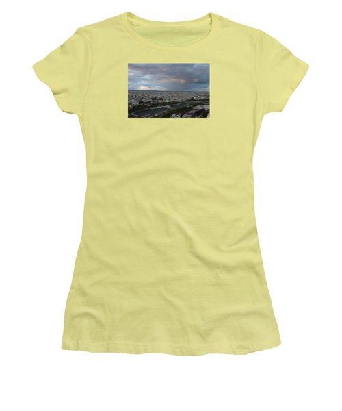 View Of Paris Women's T-Shirt (Athletic Fit)