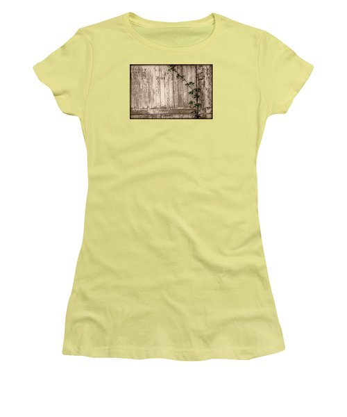 Vine And Fence Women's T-Shirt (Athletic Fit)