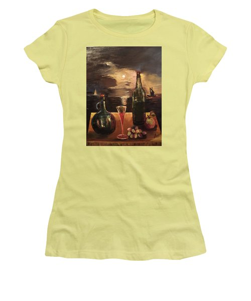 Vintage Wine Women's T-Shirt (Athletic Fit)