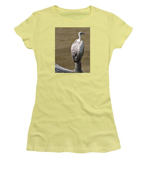 Vulture On Guard Women's T-Shirt (Athletic Fit)
